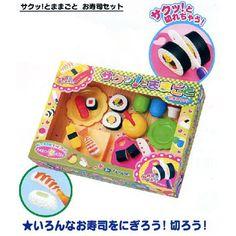 Sushi toy set