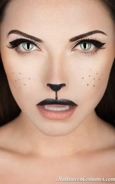 Halloween cat makeup - Halloween Costumes 2013