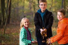 Autumn Family Photosession in the woods