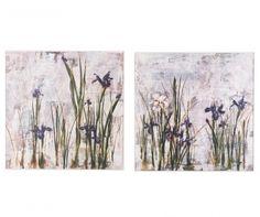 Purple Lily 2 db Kép 81x81 cm