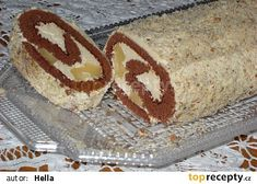 Roláda s karamelovým krémem Nutella, Tiramisu, Treats, Cake, Ethnic Recipes, Sweet, Food, Russian Recipes, Polish