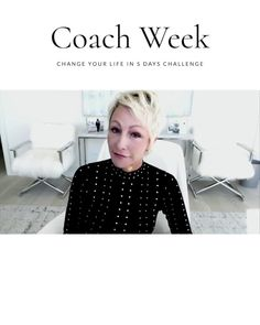 Brooke's never done anything like this before. You don't want to miss this. Join us for Coach Week. 5 days. Live coaching by Brooke. This is going to be life changing. Click the link to learn more.