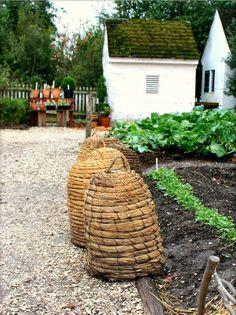 Kitchen Garden | Bee Skeps