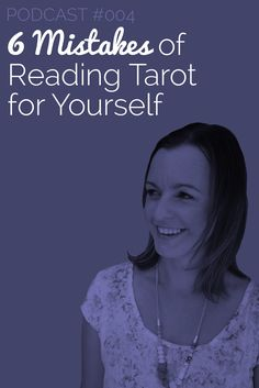 """Pay attention to your initial reaction when you see the cards in front of you.  Often times that initial message is the one that's coming direct from your intuition.""""  This week's podcast is full of advice like this to help you avoid some of the most common mistakes when reading Tarot for yourself. Listen here:  http://biddytarot.com/btp4-6-mistakes-reading-tarot-yourself/  Never miss an episode - subscribe to the podcast on iTunes!"""