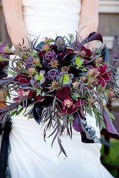 The Spookiest Halloween Weddings Weve Ever Seen ❤ See more: http://www.weddingforward.com/halloween-weddings/ #weddings