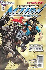 Action Comics #4 Superman New 52 1st Print DC Comics NM