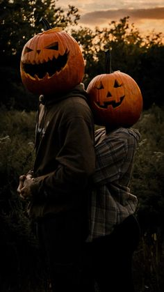Couple Photography, Portrait Photography, Pumpkin Head, Matching Couples, Fall Photos, Couple Portraits, Couple Shoot, Senior Photos, Halloween Crafts