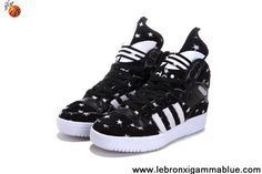 Best Gift Adidas X Jeremy Scott Big Tongue Star Shoes Fashion Shoes Shop
