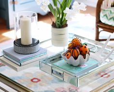 Love this coffee table collection