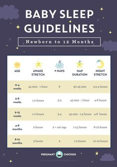 Baby Sleep Guidelines – Newborn to 12 Months - Pregnant Chicken Breastfeeding moms for the Baby Schlafplan, First Baby, Eco Baby, Baby Gender, Baby Birth, Baby Boys, Baby Sleep Schedule, Sleeping Schedule For Baby, Baby Sleeping Chart