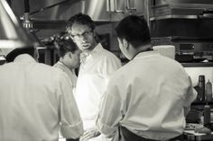 May 21, 2014 - Le Cirque's New Chef, Raphael Francois, on Moving to New York, Auditioning for the Job, and Pleasing All of the People, All of the Time. Chef Raphael Francois, in the kitchen at Le Cirque (photo by Evan Sung)
