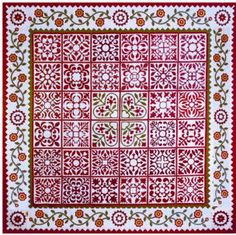 Sarah's Revival - Sue Garman - my version for LQS Opportunity Quilt benefiting nursing home gift project