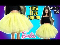 Barbie Tütü Etek Yapımı - Kendin Yap Barbie Bebek Kıyafetleri - Oyuncak Yap - YouTube