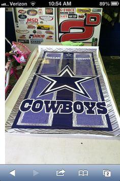 dallas cowboys cornhole board wraps by OLGrafix on Etsy