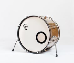 C&C Drums Europe - Vintage Drums - Player Date Europe - Ginger Glass Glitter - Bass Drum www.candcdrumseurope.com