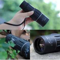 New 16 x 52 Dual Focus Zoom Optic Lens Armoring Monocular Telescope Outdoor Tactical Scopes, Tactical Gear, Phone Clip, Engineering Plastics, Night Vision Monocular, Smartphone Holder, Light Reflection, Telescope, Binoculars