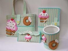 kit escolar cup-cake