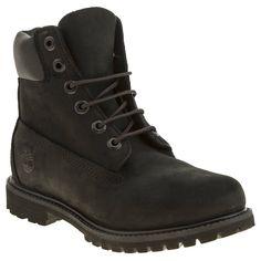 womens timberland black 6 inch premium boots