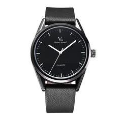 V6 2018 Quartz Watch Men Watches Top Brand Luxury Famous Leather Band Wrist Watch Male Clock Relog Panske Ceasuri Hodinky