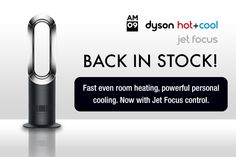BACK IN STOCK! (Just in time for the cold snap)  Dyson AM09 Hot + Cool Jet Focus  https://connections.connect-distribution.co.uk/cv6/search.pl?query=am09+fan+heater