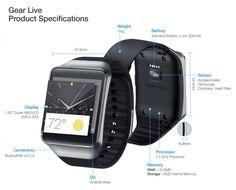 Samsung Gear Live http://www.elandroidelibre.com/2014/06/samsung-gear-live.html