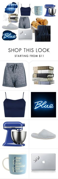 """""""Lazy weekend"""" by mad-olien ❤ liked on Polyvore featuring Oliver Gal Artist Co., WearAll, Seletti, KitchenAid, Daniel Green, Vinyl Revolution and Crate and Barrel"""