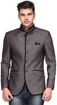 Buy Platinum Studio Solid Mandarin Casual Men's Blazer Online at Best Offer Prices @ Rs. 3,599/- In India. Only Genuine Products. 30 Day Replacement Guarantee. Free delivery. Cash On Delivery!