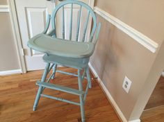 Another highchair on Etsy. Pick your color.  listing at https://www.etsy.com/listing/225851608/hand-painted-all-wood-classic-high-chair