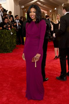 GABRIELLE UNION All The Looks From The 2015 Met Gala  - ELLE.com