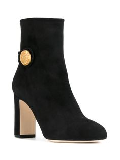 Dolce & Gabbana button detail ankle boots