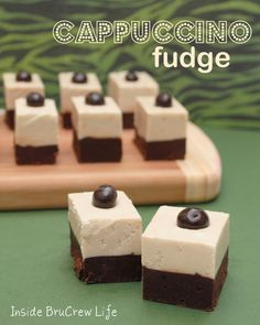Coffee and Chocolate Cappuccino Fudge