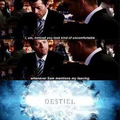 #Destiel #DeanWinchester #Castiel #Supernatural