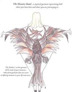 The Phoenix Shawl...rediscovered, reimagined and reborn...