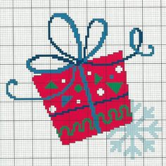 """Get your free chart DMC """"gift"""" by clicking on the image Cross Stitch Pattern Maker, Free Cross Stitch Charts, Modern Cross Stitch Patterns, Cross Patterns, Counted Cross Stitch Patterns, Cross Stitch Embroidery, Xmas Cross Stitch, Cross Stitch Cards, Cross Stitch Kits"""