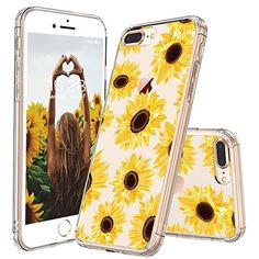 The MOSNOVO Floral Collection - A fashion floral design for your iPhone 7 Plus / iPhone 8 Plus. Color-coordinating complete for any colors of your iPhone 7 Plus / iPhone 8 Plus! 1 x MOSNOVO Stand. Compatible with iPhone 7 Plus / iPhone 8 Plus.