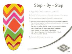 Yellow Missoni step-by-step