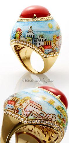 """Regilla ⚜ """"La dolce vita di Capri"""" by Chantecler e l'illustratore Fabio Finocchioli"""