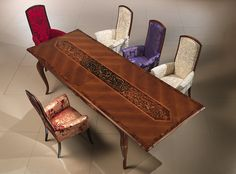 Inlaid table by Carpanelli