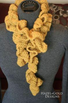 Crochet super easy ruffled scarf starbella yarn free pattern part ruffle scarf crochet pattern dt1010fo