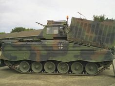 """The Marder (German for """"marten"""") is a German infantry fighting vehicle"""