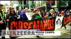3:49 Australians protest against refugee detention centres