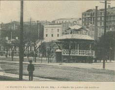 Largo de Santos, Coreto