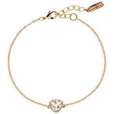 Finesse Small Swarovski Crystal Bracelet , Rose Gold ($69) ❤ liked on Polyvore featuring jewelry, bracelets, rose gold, swarovski crystals bracelet, swarovski crystals jewelry, bracelet bangle, polish jewelry en bracelet jewelry