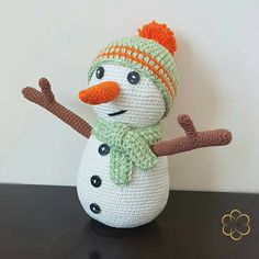 For the longest time, I've been intimidated by amigurumi and it just never seemed like something I would design myself. Thiscrochet snowman amigurumi is my first attempt at designing an amigurumi. ***may contain affiliate links*** And, oh boy! are there many cute, adorable, fantastic amigurumi patterns out there. (adsbygoogle = window.adsbygoogle || []).push({});   If you've come across my post on the Hearty Giraffe I made a while back, I mentioned that crocheting amigurumi wa...