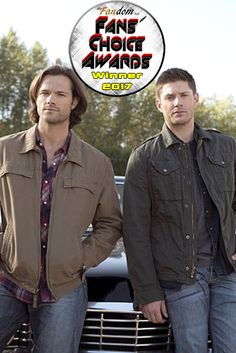 2ND Annual FANS' CHOICE AWARDS Winners | 2017  Best Bromance/Sistermance in a TV Series: Sam and Dean from  Supernatural