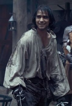 Oooh, and the fight is on.  Athos or D'Artagnan?  Get'em Luke!