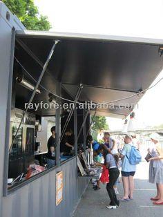 mobile 20GP container restaurant