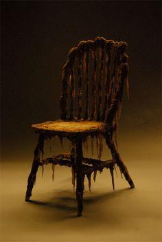 halloween swamp chair
