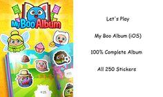 Let's Play - My Boo Album (iOS) - Complete Sticker Album of 250