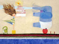 Happy Birthday Chinatsu Ban 2003 Acrylic on canvas, Courtesy Tomio Koyama Gallery Birthday Love, Birthday Images, Japanese Pop Art, Superflat, Arte Pop, Ink Painting, Cute Illustration, Illustrators, Abstract Art